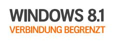 Verbindung begrenzt: Lösung für Windows 8.1 WLAN Problem