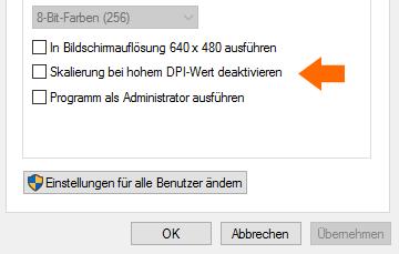 Windows 10 Schrift Unscharf