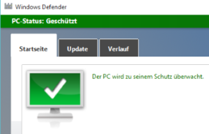 Windows-Defender in Windows 10