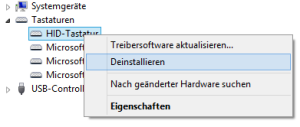 Tastatur spinnt unter Windows 10