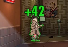 Fallout Shelter mysteriöser Fremde: Mann und Survival