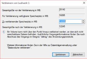 Anleitung: Windows 10 Systempartition größer machen