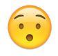 erstaunt smiley mit offenen mund - whatsapp smileys bedeutung