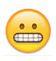 grinsender smiley zeigt zaehne - whatsapp smileys bedeutung