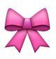 rosa schleife - whatsapp smileys bedeutung
