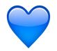 whatsapp blaues herz - whatsapp smileys bedeutung