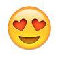whatsapp smiley rotes augen in herzform - whatsapp smileys bedeutung
