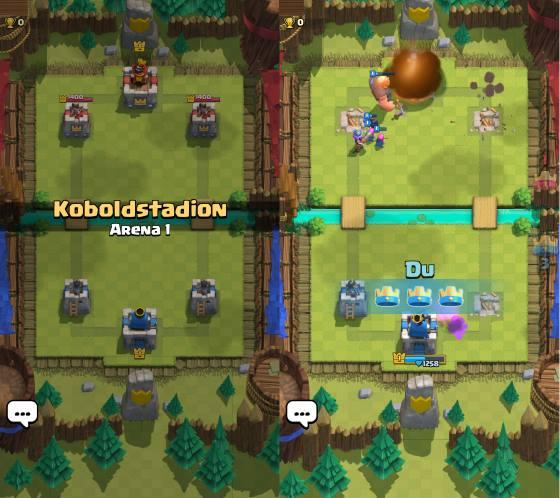 Clash royal hintergrund